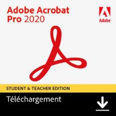 Acheter Acrobat Pro 2020 - Etudiant/Professeur