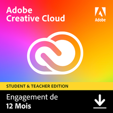 Acheter Adobe Creative Cloud all Apps - Education