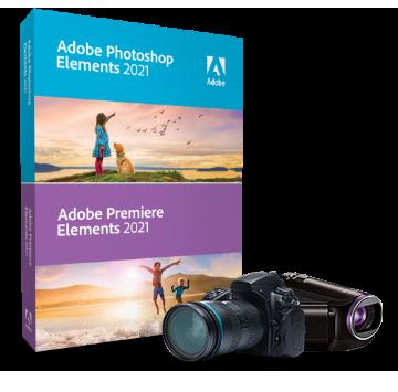 Acheter ADOBE Photoshop Elements 2021 & Premiere Elements 2021 - Education