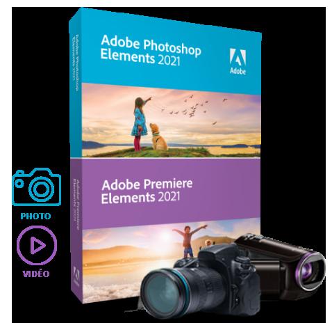 Acheter ADOBE Photoshop Elements 2021 & Premiere Elements 2021