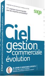 Ciel Gestion Commerciale Evolution 2018