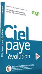 Ciel Paye Evolution 2017