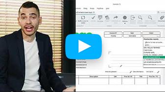 Video Comment réaliser des devis & factures conformes et personnalisés avec Sage 50 ?