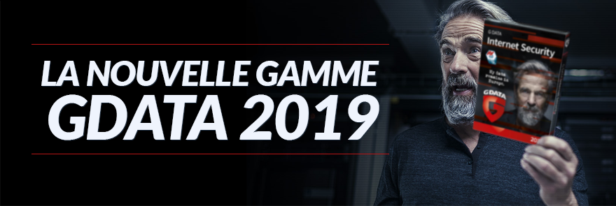 Découvrir la nouvelle gamme G Data 2018