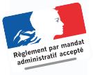 Règlement par mandat administratif accepté