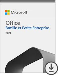 Microsoft Office Famille et Petite Entreprise 2021