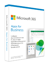 Acheter Microsoft 365 Apps for business (Anciennement Office 365 Business)