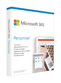 Acheter Microsoft 365 Personnel (Anciennement Office 365 Personnel)